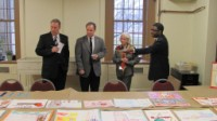 Judging the Home Fire Drill Poster Contest